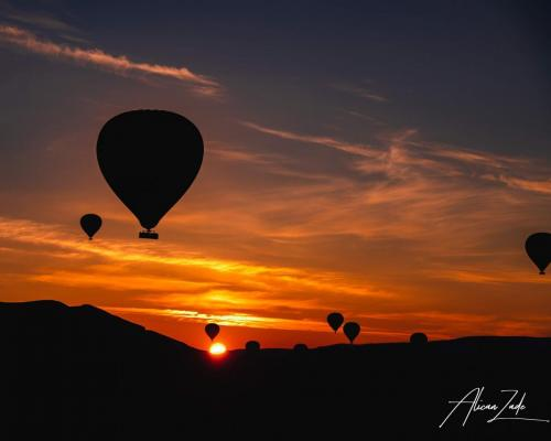 Dawn of the Cappadocia